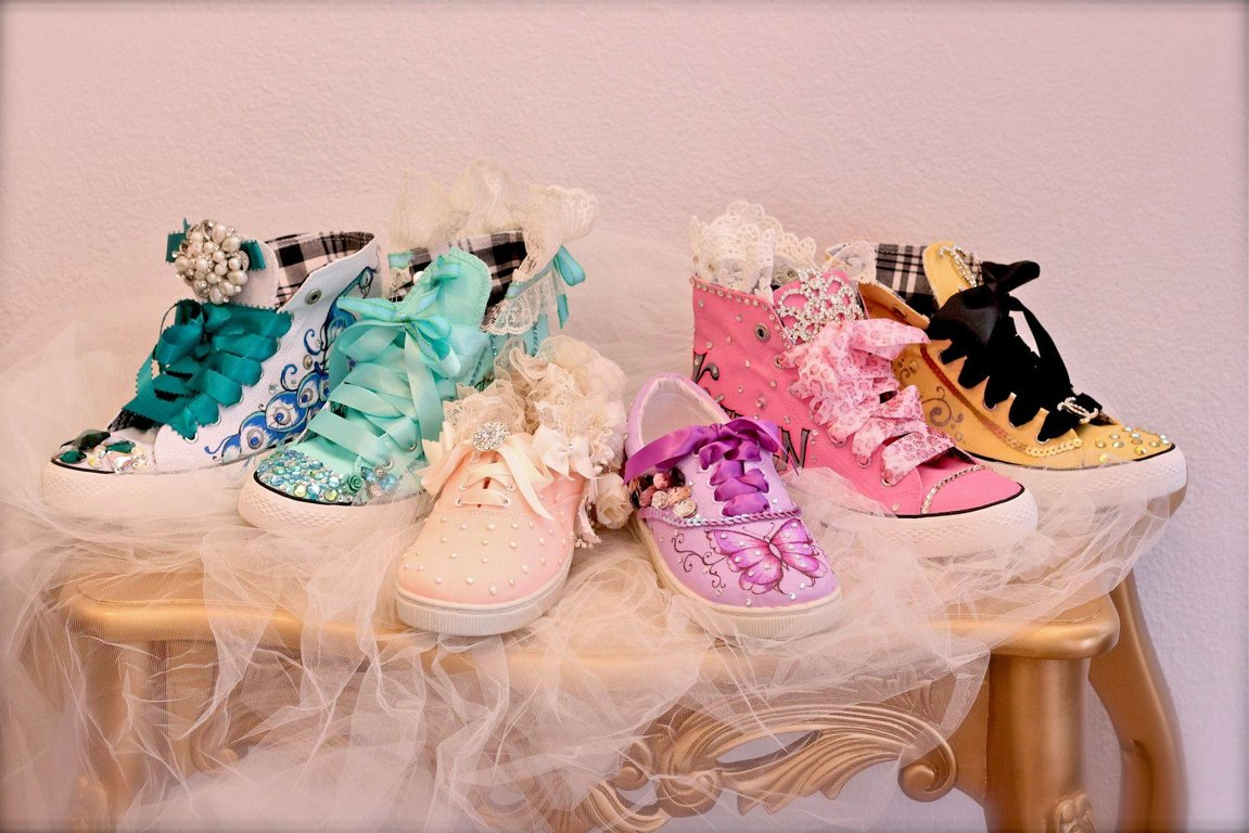 Quinceañera Shoes Young and Fun