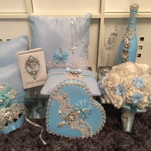 Baby Blue Quinceañera Package