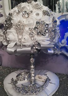 Wedding Bouquet Silver