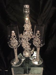 Wedding Champagne Set