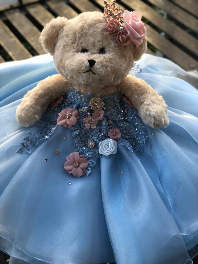 Quineanera Teddy Bear