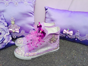 Hand Made Quinceañera Shoes
