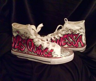 Quinceañera Shoes - Custom Design with your name