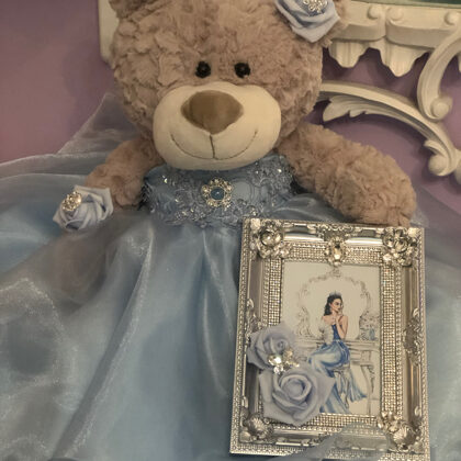 Quinceanera Teddy Bear