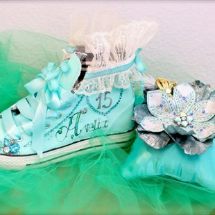 Best Custom Made Quinceanera Shoes In Los Angeles